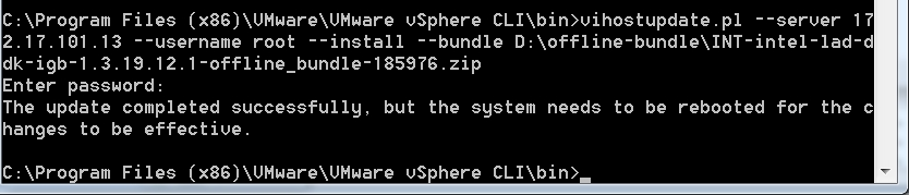 Add additional drivers to ESXi