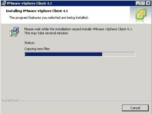 vsphere client 4.1 download for windows