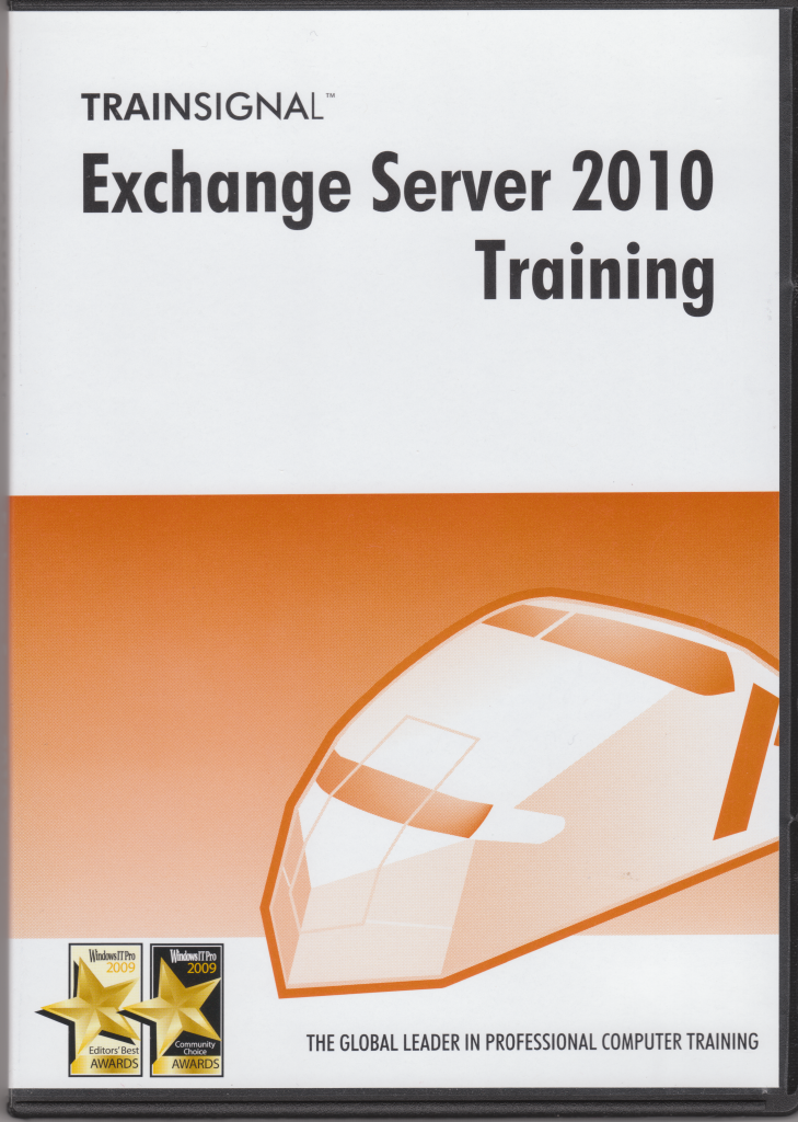 Trainsignal Exchange 2010 training kit