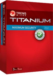 Trend Micro Titanium 2012 Box Shot