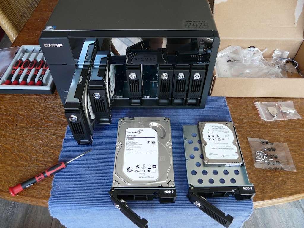 Unboxing the QNAP TS-869-Pro TurboNAS