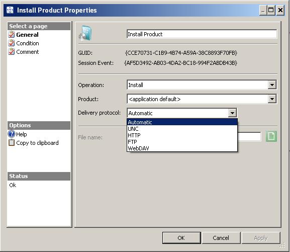 Scense protocols