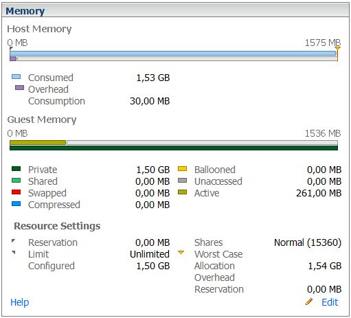 vSphere 5 memory management explained - part 1