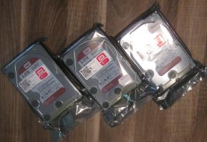 WesternDigital HDD RED 3TB Sealed