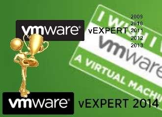 VMware vExpert 2014 !