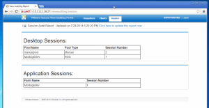 View Auditing Portal