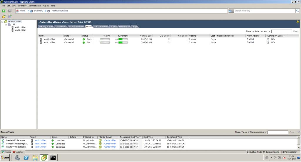 LAB_Setup_vESX_Servers
