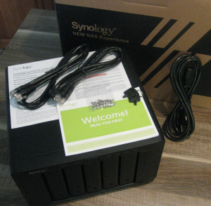 Synology DS1513+ Package Contents