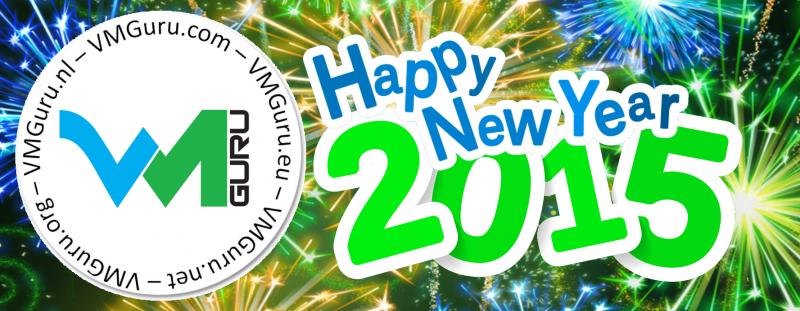 Happy New Year 2015 from VMGuru