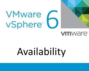 vSphere 6 Availability