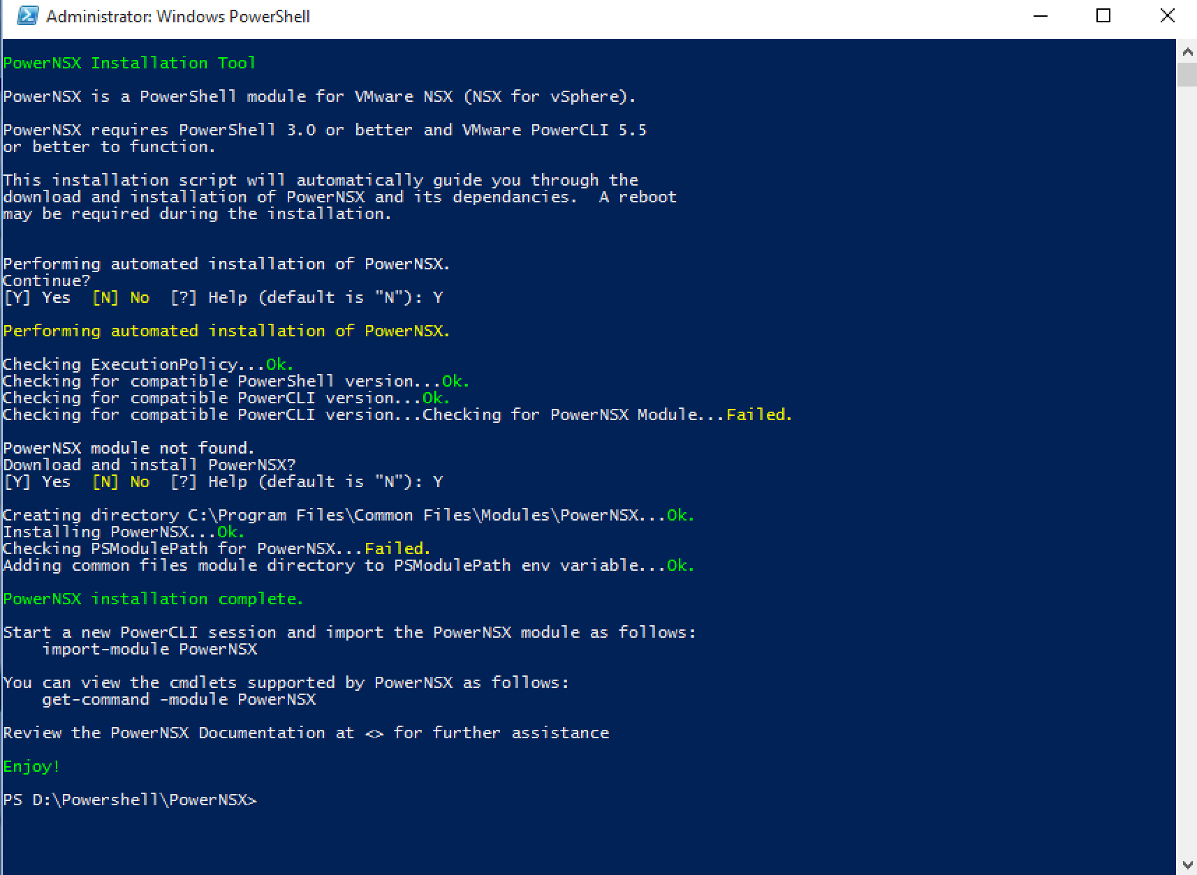 VMware NSX PowerShell Extension Open Sourced