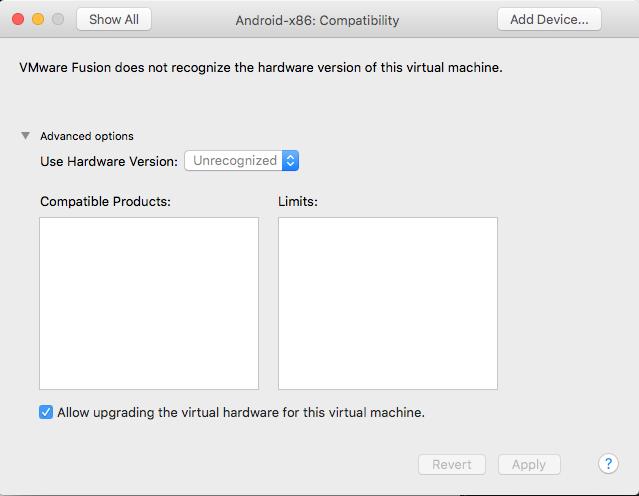 CompatibilityScreen
