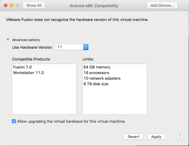 How to exchange VMs between VMware Workstation and Fusion