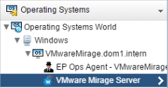 VMware vRealize Mirage service addedd