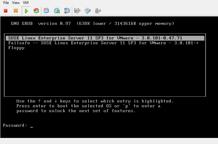 Resetting the root & admin password of VMware Identity Manager