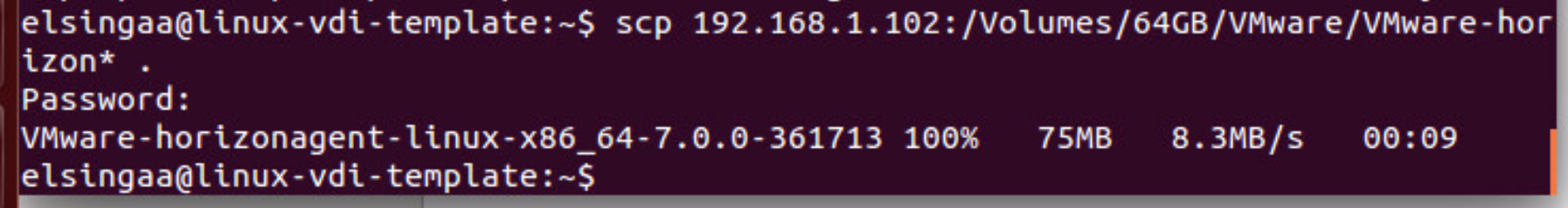 Linux Desktops with Horizon