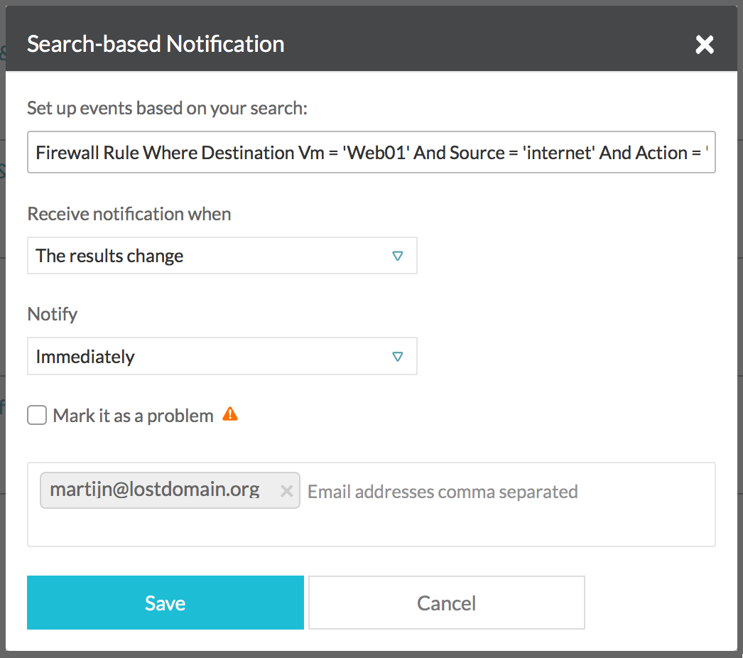 Monitoring Firewall Rules with vRealize Network Insight