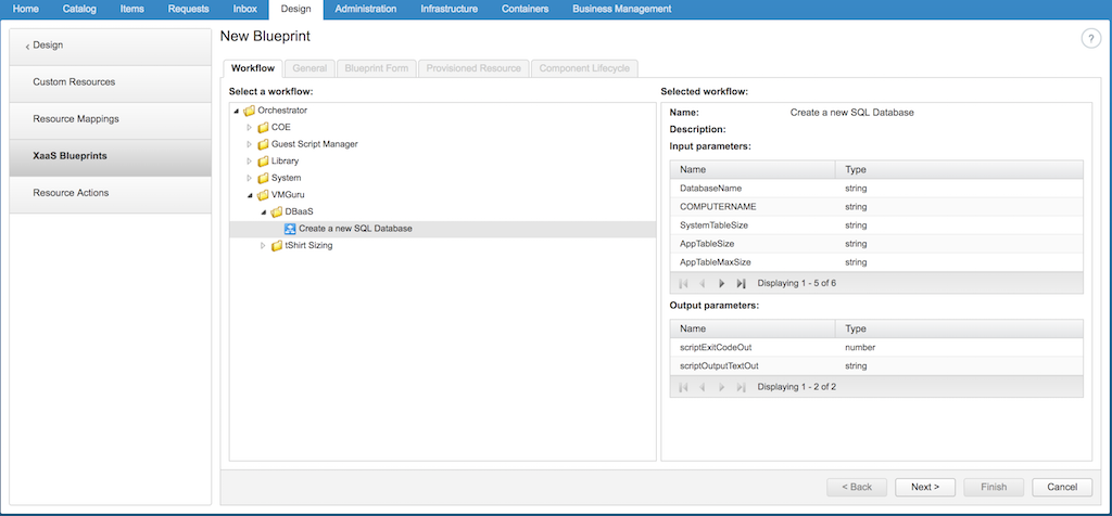 How to deliver Database-as-a-Service with vRealize Automation