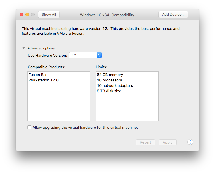 How to Fix Slow Windows VMs on VMware Fusion 8 x