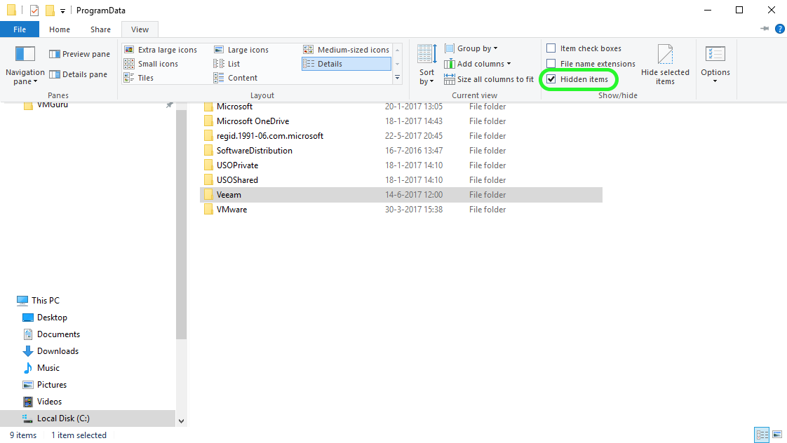 How to remove the Veeam Backup & Replication Console