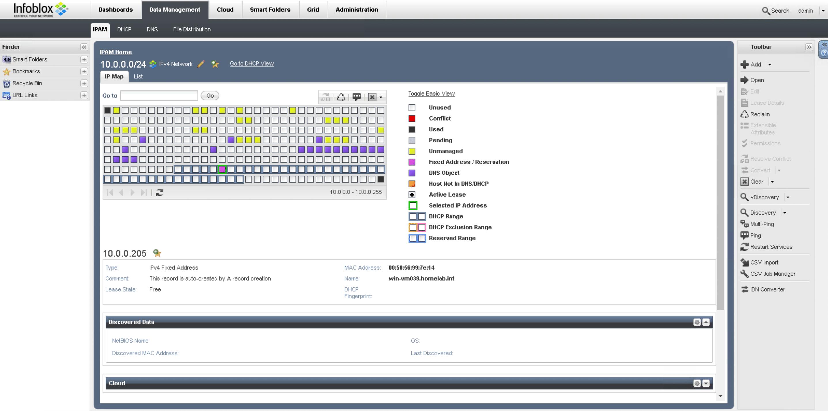 Infoblox & vRealize Automation, vRA setup