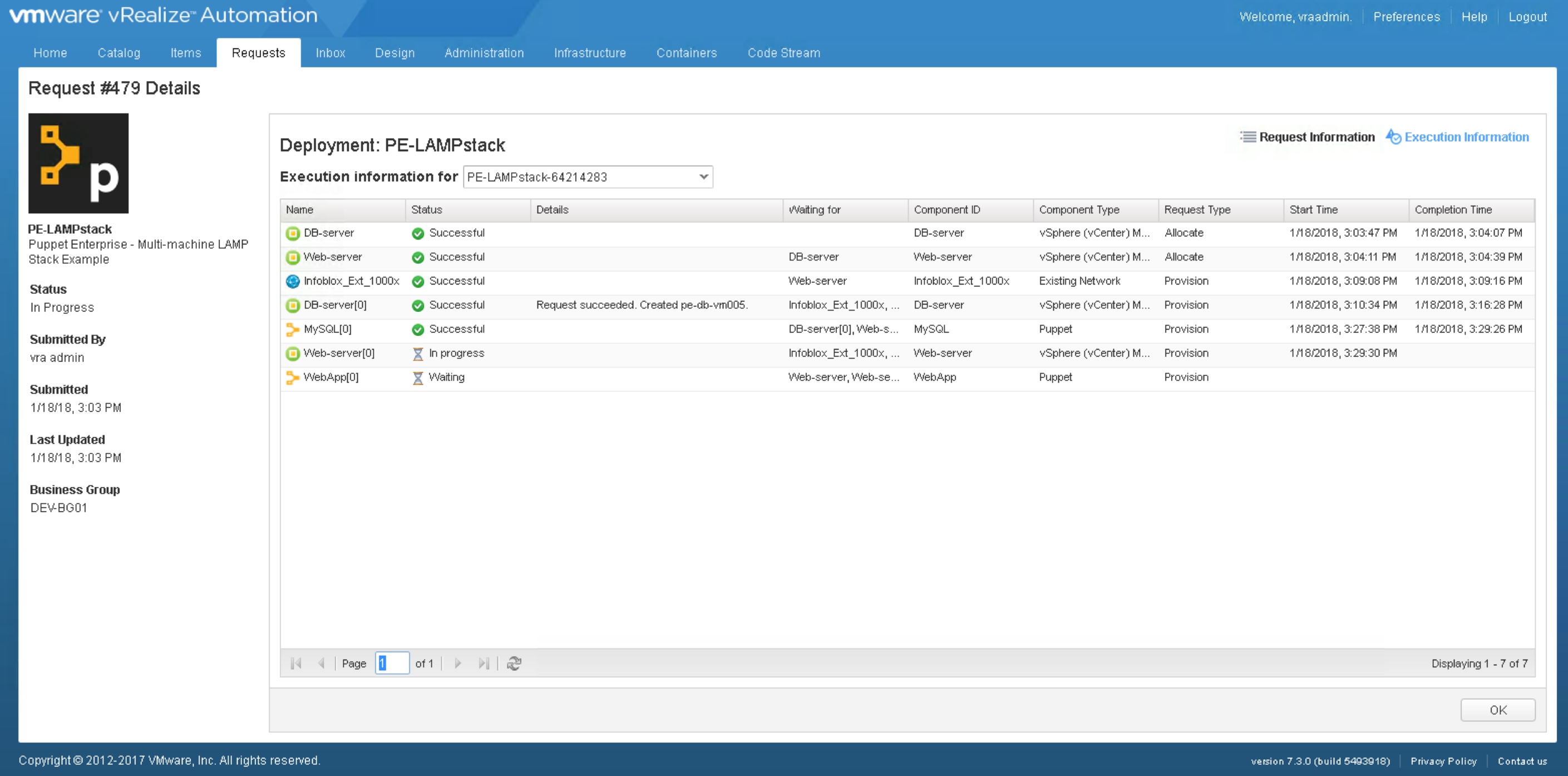 LAMP Stacks made easy with VMware and Puppet