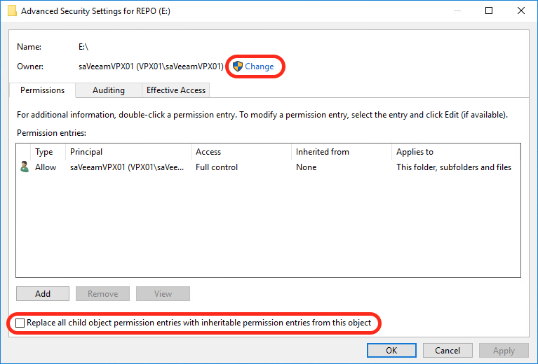 Best Practices for Hardening the Veeam Backup Repository (Windows)