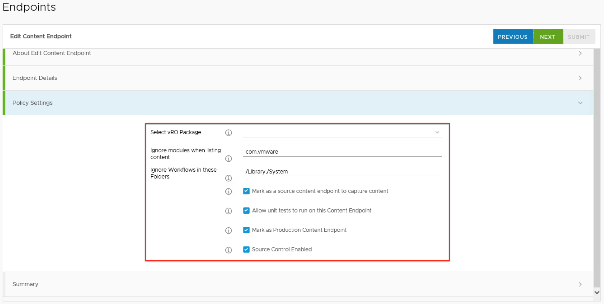 A first look at vRealize Content Management