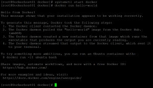 Docker hello world