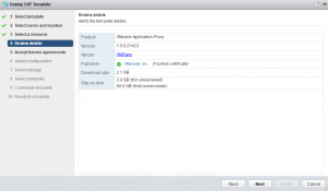 Application monitoring - App Proxy