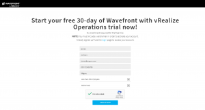Application monitoring - Wavefront