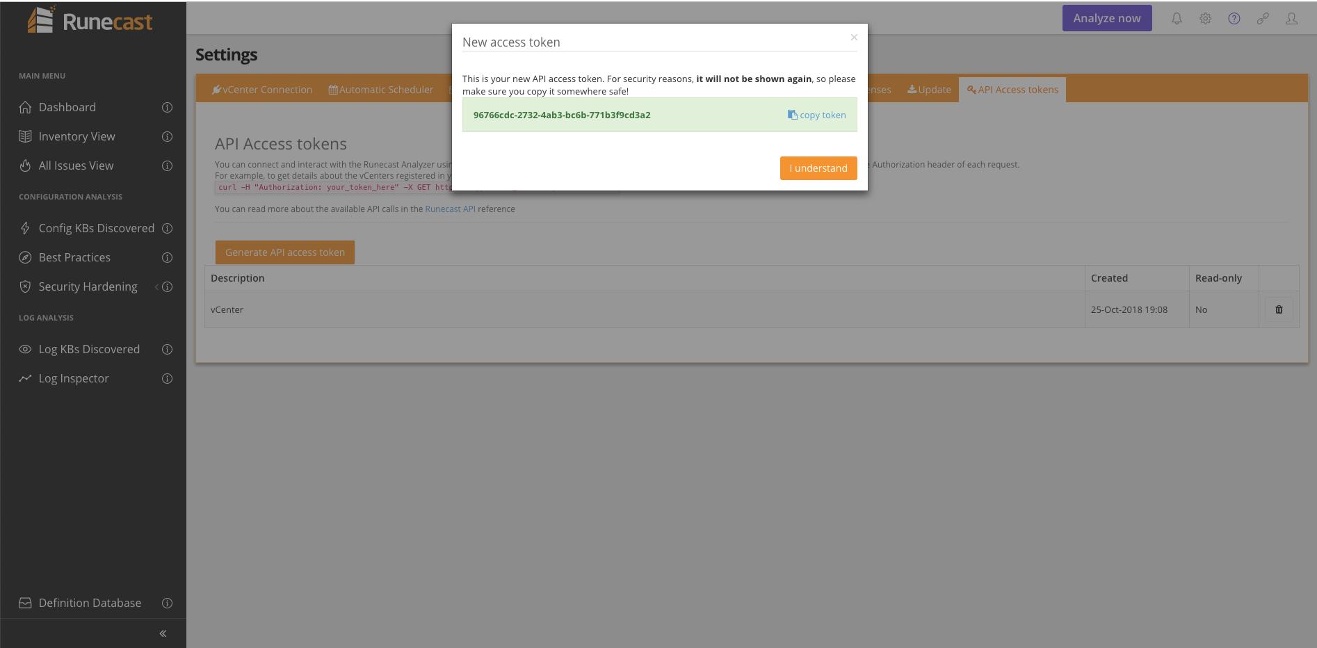 Health check your vSphere environment using Runecast Analyzer