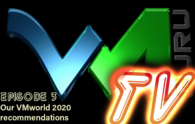 Our VMworld 2020 recommendations